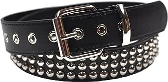 foolsGold 3 fila conica cintura chiodati - Nero