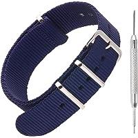 Bracelet en nylon pour montre NATO par Sniper Bay Bracelets style militaire pour plongeurs 18mm 20mm 22mm 24mm