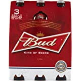 Budweiser Birra Bottiglia, 3 x 330ml