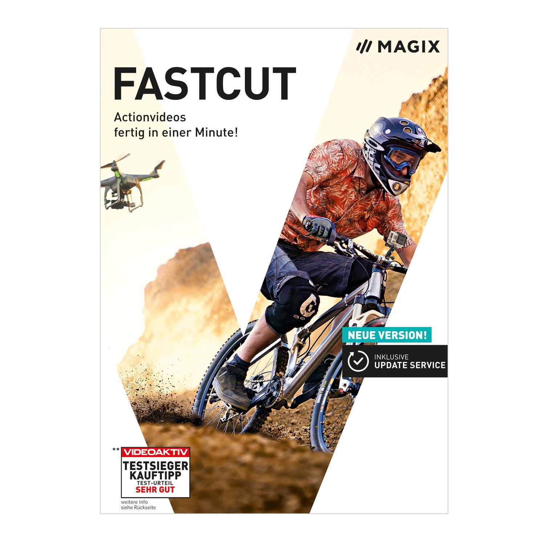 MAGIX Fastcut - Plus Edition 2017 - Software für automatischen Videoschnitt [Download]
