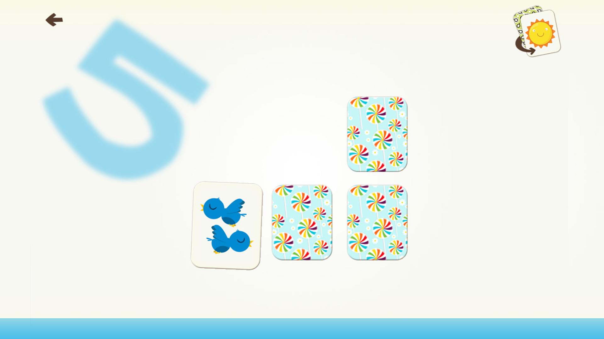 Zahlen Und Zählen Spiel-Spiele Für Kinder Mit Fähigkeiten