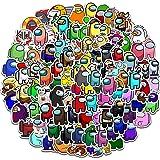 ZSWQ 200 Pegatinas de Among Us Adhesivos de Anime para niños para Ordenadores portátiles, Botellas de Agua, Fundas de Viaje,