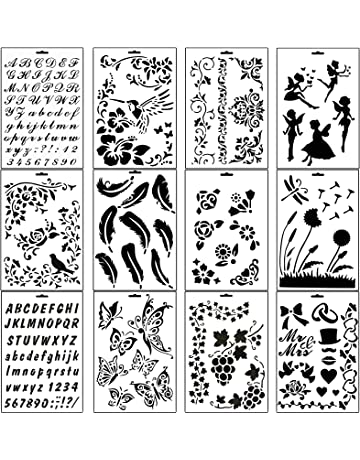 Stencils Buy Stencils Online At Best Prices In India Amazon In