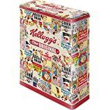 Nostalgic-Art - Boite Alimentaire en Fer Blanc - Design Rétro - Vintage Collage Kellog's