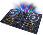 Numark Party Mix DJ Controller with Built-in Sound Card Light Show