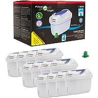 FilterLogic FL402H | Lot de 12 - Cartouche Filtrante compatible avec Brita Maxtra+ Filtre à Eau pour Carafe Marella…