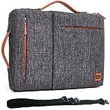 DOMISO 17 tums vattentät laptopväska fodral Notebook fodral skyddsfodral för 17,3 tum Dell Inspiron/MSI/Lenovo IdeaPad 300 32