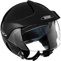 Studds Marshall Half Helmet (Black, XL)