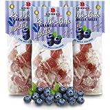 Gelée, Caramelle Morbide al Mirtillo, 150 Grammi (Confezione da 3 Pezzi)