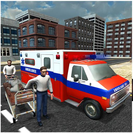 Krankenwagen 911 Rescue Team (Spielen Bergsteiger)