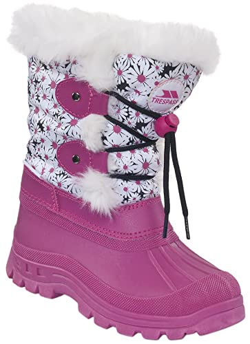 Trespass Snowdream, Girls' Snow Boots: Amazon.co.uk: Shoes & Bags