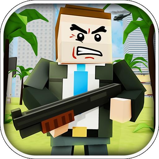 Einzigartiges Blox Survivor SpielBlox Survivor Game (Pixel-waffen)