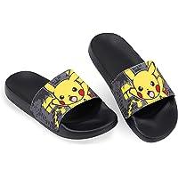 Pokemon Ciabatte Bambino, Ciabatte Da Casa In Gomma Di Pikachu, Sandali Bimbo Per Piscina, Doccia, Spiaggia, Giardino