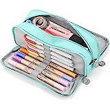 KidsPark Trousse Scolaire Garcon Fille Ado, Trousse à Crayons Grande Capacité avec 3 Compartiments, Sac à Crayons école Papet