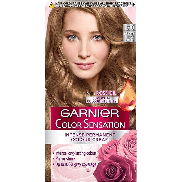 Garnier Color Sensation Crema Permanente 7.0 delicado Opal ...