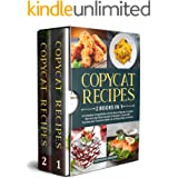 Copycat Recipes: 2 Books in 1: A Complete Compilation of the Most Popular Cracker Barrel's and Olive Garden's Recipes. Cook w