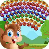 Squirrel and Acorn - POP Bubble Shooter