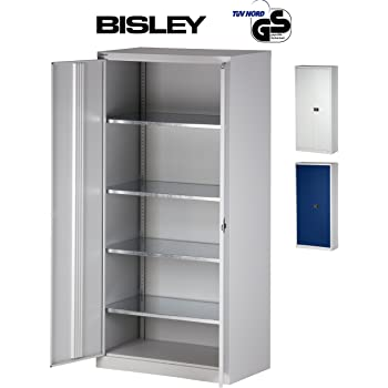 bisley aktenschrank werkzeugschrank fl gelt renschrank tiefe 50 cm aus metall. Black Bedroom Furniture Sets. Home Design Ideas
