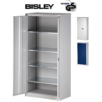 Werkzeugschrank metall  BISLEY Aktenschrank | Werkzeugschrank | Flügeltürenschrank Tiefe ...