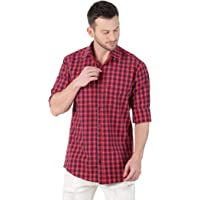 LEVIZO Men's Regular Fit Casual Shirt
