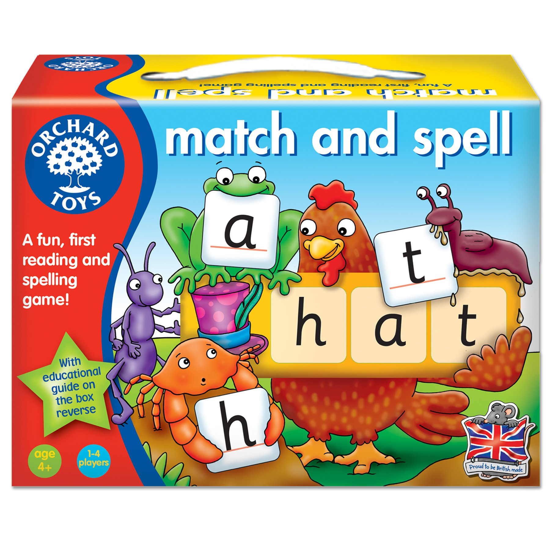 Educational Toys for 4 5 Year Olds Kids Pre School Match and Spell