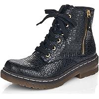 Rieker Women Lace-Up Shoes 76224, Ladies Comfort Shoes