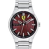 Scuderia Ferrari Orologio Analogico Quarzo Uomo con Cinturino in Acciaio Inox 830357