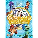 LUCA - Mes Coloriages avec Stickers - Disney Pixar