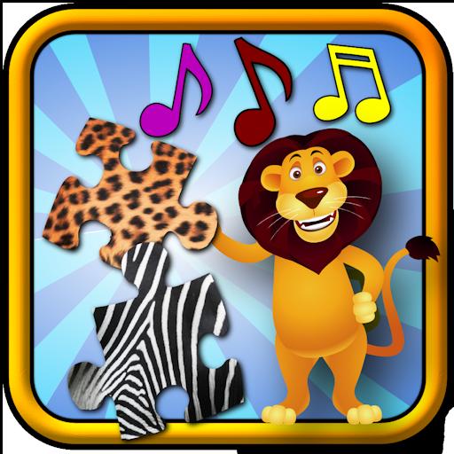 Kinder Tier-Puzzle - Bildung junger Kinder Spiel lehrt, Formen und passend geeignet für Kleinkind und Pre-School-jungen und Mädchen 3 + -