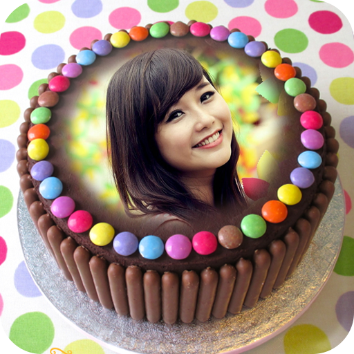 Birthday Cake With Picture.Birthday Cake Photo Frame Amazon Co Uk Appstore For Android