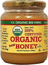 Y.S. Eco Bee Farms, 100% Certified Organic Raw Honey, 1.0 lb (454 g)