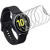 UniqueMe [6-pack] skärmskydd för Samsung Galaxy Watch 3 45 mm, [Flexibel film] mjuk HD TPU klar anti-repor skärmskydd film sk