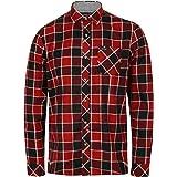 Tokyo Laundry Mens Twill Check Shirt 'Bridlington' Long Sleeved