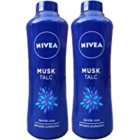 Nivea Musk Talc 400g with 1 Unit of 400g Free (1+1)