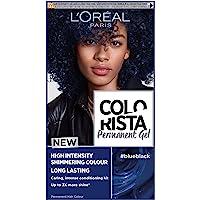L'Oreal Colorista BLUE Black Permanent Hair Dye Gel Long-Lasting Permanent Hair Colour