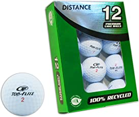 Top-Flite Confezione 12 Palline da Golf grado A