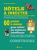 Hôtels à insectes : 60 projets à réaliser