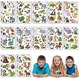 Matogle 24 stks Dierentuin Dier Tijdelijke Tatoeages Voor Kids Party Kinderen Verjaardag Meisjes Jongens Feestartikelen Zakvu