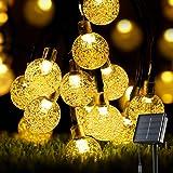 Solar String Lights Garden, OxyLED 60 LED Solar Lights Outdoor Garden Solar Fairy String Lights 8 Modes Garden Lights Solar W