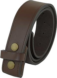 1924ea241ff Ossi Ashford Ridge Cuir véritable 40mm Appuyez sur goujon enfichable  ceinture - noir ou marron