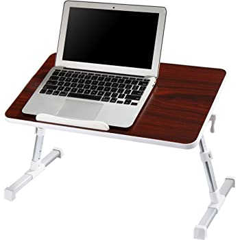 Avantree regolabile vassoio letto ripiegabile tavolino da letto tavolino per notebook tavolo - Tavolino da divano per pc ...