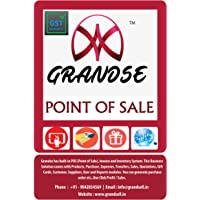 GRANDSE Point Of Sale Billing Software With Inventory Management (Online Version One Month Subscription)