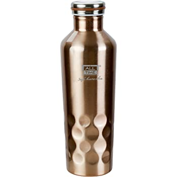 All Time Cresta VF001 Stainless Steel Vacuum Flask, 500ml, Gold