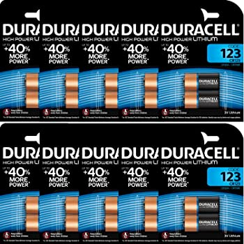 40x Panasonic 3V CR123A DL123A Batterien  CR17345 Ultra Lithium Foto Bulk