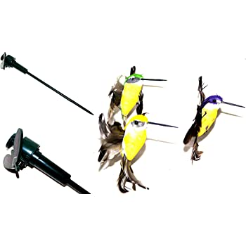 LED Solar Leuchte Vogel ca 30 cm Solarleuchte Gartendekoration Garten Deko