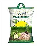 Spark India™ Organic Compost Soil for plants Vermicompost premium Natural Soil Mixture (10 kg)