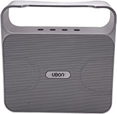 UBON BT-157 Tuff speaker,tooth Wireless speaker with TF card and USB Port Color May Vary