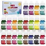 Colorant alimentaire liquide concentré Nourriture Dye 20 couleurs