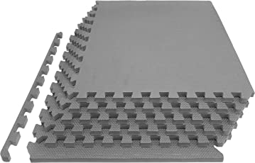 ProSource Extra Thick 3 4 EVA Foam Interlocking Tiles for Protective Puzzle Exercise Mat