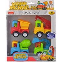 Comdaq Construction Vehicles (Set of 4)